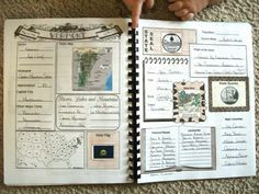 Geography: State book- basic printable overview for 50 states. Great tool for homeschooling or in the classroom.