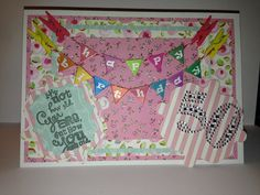 I've just made this 50th birthday card The happy birthday bunting came in a set of five for £2 from Hobby Craft I simple cut card stock in ever smaller rectangles to matt the card. I then used my S...