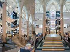 The Broerenkerk Church, Zwolle | The Netherlands(by BK Architecten | Photos by Joop Van Putten) The Broerenkerk Church – now named 'Waanders in der broeren'- in the city of Zwolle, the Netherlands, has been around since 1466 and has served as an active house of worship up until 1982, laying dormant for 3 decades until it reopened this July after a renovation carried out by local firm BK Architecten.