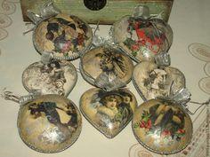 Купить Набор елочных игрушек Зимняя прогулка №1 елочные украшения - елочные игрушки