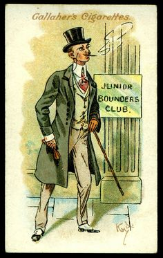 "Flickr-Gallahers ""Votaries of the Weed"" series of 50 issued in 1916 #2 The Young Gentleman"
