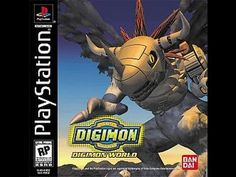 Playstation 1 - Digimon World Video Game Industry, Video Game News, Childhood Games, My Childhood, Digimon, Jrpg Games, Earth Defense Force, Game Title, Classic Video Games