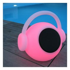 Lampe Nomade LED haut parleur Bluetooth étanche compatible Smartphone Zik Smartphone, Led, Diffuser, In Ear Headphones, Music, Over Ear Headphones