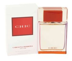 Chic Perfume by Carolina Herrera, 2.7 oz Eau De Parfum Spray for Women -  Chic Perfume by Carolina Herrera 2.7 oz Eau De Parfum Spray for Women. Launched In 2002, Chic By Carolina Herrera Is Ultra Sheek And Feminine. Chic Opens With An Aromatic Blend Of Fresh Cut Florals Embrassed With A Sensual Woody Base Notes. Contains Madarin Flower, Orange Flower, Vanilla, White...