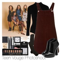 """""""Teen Vouge Photoshoot"""" by ana-a-m ❤ liked on Polyvore featuring Yummie by Heather Thomson, Topshop, NARS Cosmetics, Giuseppe Zanotti, Bobbi Brown Cosmetics, Forever 21 and Missoni"""