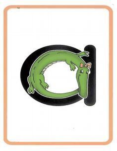 Punchy image pertaining to zoo phonics alphabet cards printable