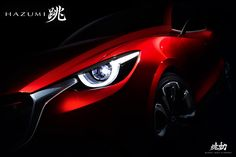 Mazda HAZUMI is the next-generation subcompact concept, which will be revealed by the brand at the Geneva International Motor Show. In addition, Mazda will also show for the first time at the event. Mazda 2, Upcoming Cars, Auto Motor Sport, Automotive Group, Automotive Sales, Cars Uk, Geneva Motor Show, Latest Cars, Honda Logo
