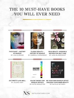 Want some makeup books to learn makeup from scratch? Or perhaps you're looking for a more advanced makeup book so you can step up your makeup game?! Well, this list has it all. Here you'll find the only makeup books you'll ever need. They will help you improve your makeup skills, learn which makeup tools to use and also get you inspired to be more creative with your makeup. #Makeup #MakeupTips How To Wear Makeup, Learn Makeup, Easy Makeup Tutorial, Makeup Tutorial For Beginners, Best Makeup Tips, Best Makeup Products, Bobbi Brown Makeup Manual, Makeup History, Makeup Books
