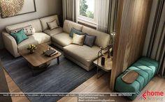 Thiết kế nội thất căn hộ số 14-C2 chung cư Goldsilk Complex