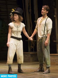 Peter and the Starcatcher at the Shaw Festival with the lovely Kate Besworth as Molly