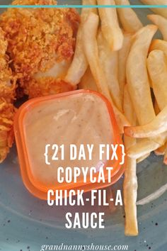 Fixate Recipes, Healthy Eating Recipes, 21 Day Fix Dressings, 21 Day Fix Snacks, Beachbody 21 Day Fix, 21 Fix, Chick Fil A Sauce, 21 Day Fix Diet, 21 Day Fix Meal Plan