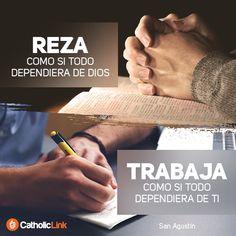 Biblioteca de Catholic-Link - Reza y trabaja San Agustín