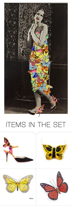 """""""Vintage Insect Ball"""" by alzjunkyard ❤ liked on Polyvore featuring arte e vintage"""