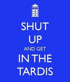 Get in the Tardis