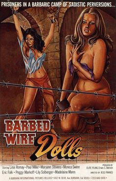 exploitation movie posters   6000 Exploitation Movie Posters - PartB: POSTER - BARBED WIRE DOLLS ...