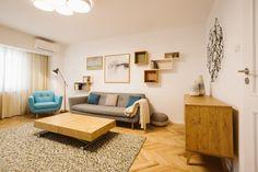 Apartament de 3 camere în București amenajat de designerul Mihaela Cetănaș