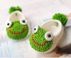 Image result for sandalias para bebe tejidas a crochet