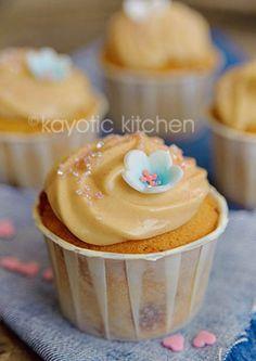 Caramel Cupcakes by Kayotic Kitchen