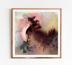 Head Rush | Mariëtte Kotzé  | Pink, plum & gold Abstract | | Giclée Print | Limited Edition of 10 Colorful Clouds, Ink Wash, White Ink, Macro Photography, Giclee Print, Fine Art Prints, In This Moment, Abstract, Artwork