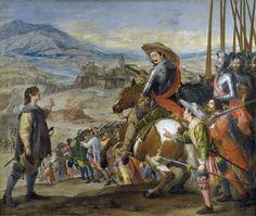 """Socorro de Brisach"", Jusepe Leonardo. Óleo sobre lienzo, 1634-1635"