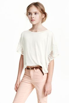 Pončové tričko   H&M