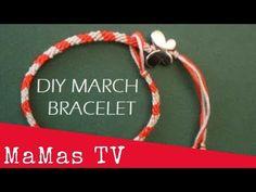 Φτιάχνουμε βραχιολάκι του Μάρτη (DIY MARCH BRACELET) - YouTube