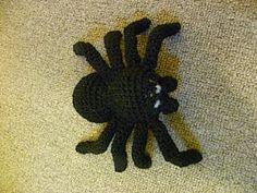 A terrifying toy tarantula.