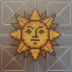 Sun mini perler beads by essimdesigns …