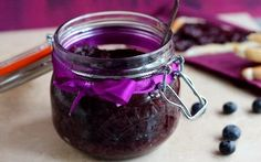No-Cook, Sugar-Free Blueberry and Chia Seed Jam Recipe by Sanjana Modha : Food Network UK