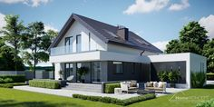 Preferencje Why don't we Bungalow House Design, Good House, Concept Home, Dream House Plans, House Prices, Home Fashion, Home Projects, Sweet Home, Mansions