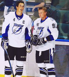 Vincent Lecavalier and Steven Stamkos, Tampa Bay Lightning (Source: segsual)