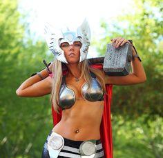Toni Darling as Lady Thor