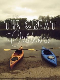 The Great Outdoors - Let's Paddle!  | Kayak