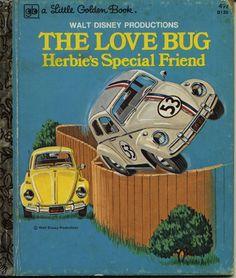THE LOVE BUG HEBIE'S SPECIAL FRIEND 1975 - Little Golden Book