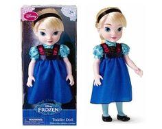 Disney Frozen 15″ Elsa Toddler Doll | Movie Crafts