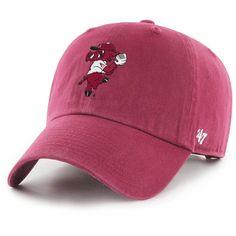 Arkansas Razorbacks '47 Brand Pitching Ribby Clean Up Adjustable Baseball Hat University Of Arkansas, Arkansas Razorbacks, Clean Up, Baseball Hats, Baseball Caps, Caps Hats, Baseball Cap, Snapback Hats