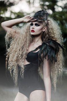 Halloween Costume, Makeup, Kostüm Idee für Halloween awesome!!