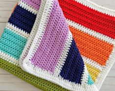 18 Baby Blanket Knitting Patterns So Cute for Your Kids Easy Knit Baby Blanket, Crochet Scarf Easy, Cable Knit Blankets, Crochet Blankets, Baby Blankets, Easy Knitting Patterns, Simple Knitting, Rainbow Baby, Rainbow Nursery