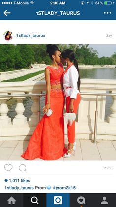 Yes ✊. Two girls at prom? The problem? I only see beauty