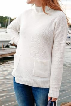Cozy pocket sweater