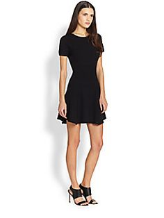 Theory - Alancy Fit-and-Flare Dress