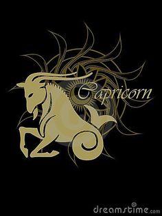 capricorn zodiac sign | Capricorn Zodiac Sign Stock Image - Image: 9099391
