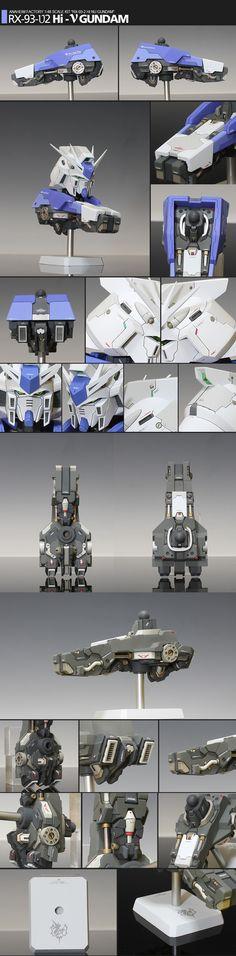 마음속에 네가 비우고간 공간만큼 내 마음이 커질때까지... :: ■[퍼옴]1:48RX-93-υ2 Hi-υ Gundam Head model■