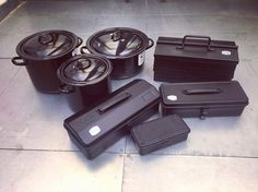 我是偏愛黑色的! Toyo toolbox加上Riess classic 系列 真係好配合! 送給男仕的最佳禮物  #riess #toyo toolbox #black