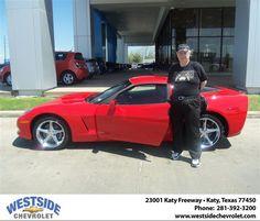 #HappyBirthday to Roy Chesbro from Ryan Crandall  at Westside Chevrolet!