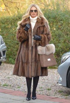 NEW BARGUZIN RUSSIAN SABLE FUR SWINGER COAT CLAS JACKET MINK FOX LYNX CHINCHILLA