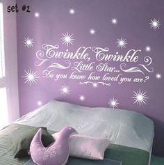 Twinkle Twinkle Little Star Childrens Nursery by sticktakstickers, $24.95