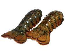 Pair of Maine Lobster Tails (8-10oz.)  www.dorrlobster.com
