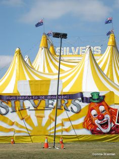 Ready made circus tents with multiple peaks