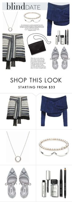 """""""What to Wear: Blind Date"""" by littlehjewelry ❤ liked on Polyvore featuring 10 Crosby Derek Lam, Dune, Loeffler Randall, Anja, Bobbi Brown Cosmetics, women's clothing, women, female, woman and misses"""